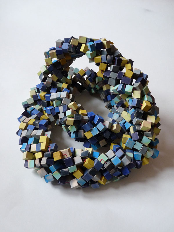Bridget Harvey  Blue Necklace