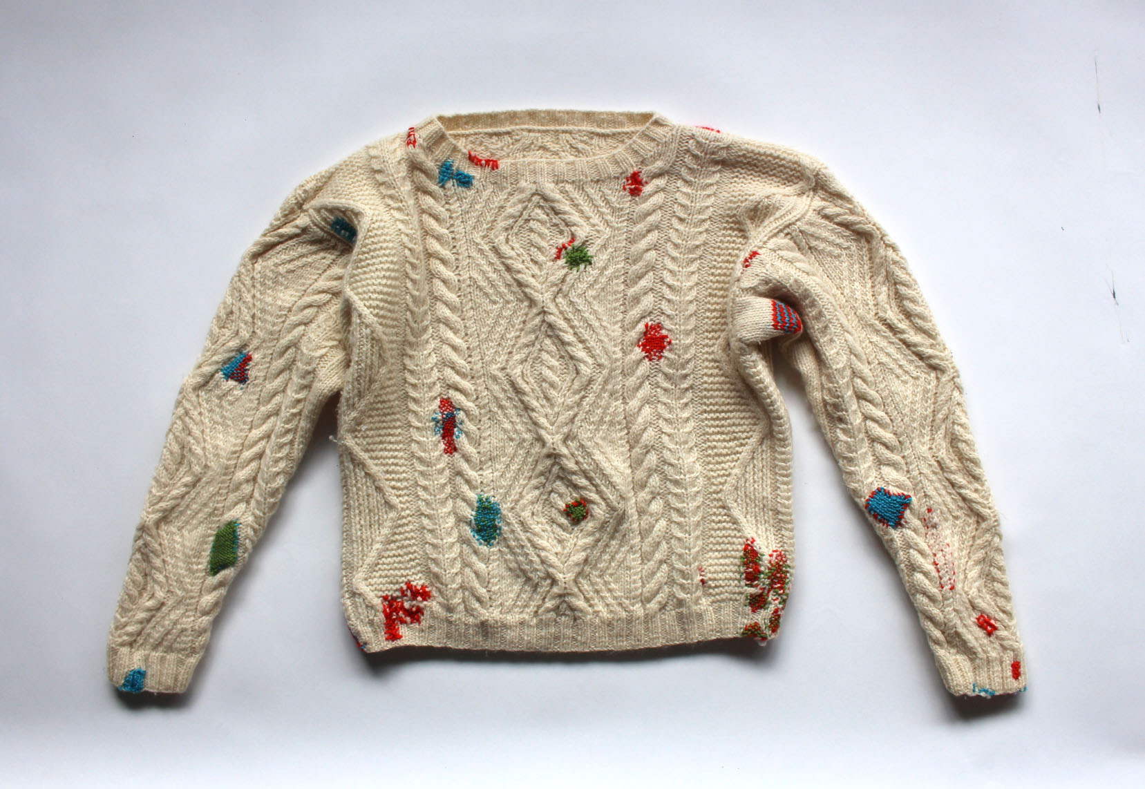 Bridget Harvey  Jumper to Lend, Jumper to Mend